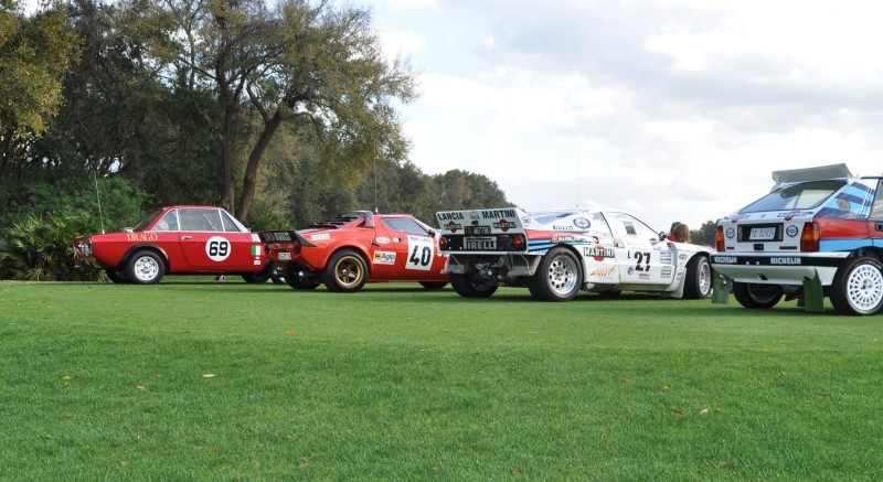 LANCIA Rally Reunion - Stratos, Integrale, Fulvia and 037 Together for Amelia 2015 49