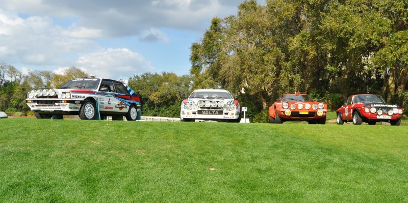 LANCIA Rally Reunion - Stratos, Integrale, Fulvia and 037 Together for Amelia 2015 5