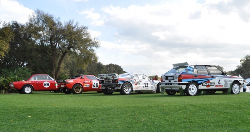 LANCIA Rally Reunion - Stratos, Integrale, Fulvia and 037 Together for Amelia 2015 50