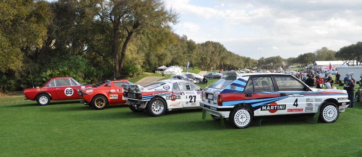 LANCIA Rally Reunion - Stratos, Integrale, Fulvia and 037 Together for Amelia 2015 51