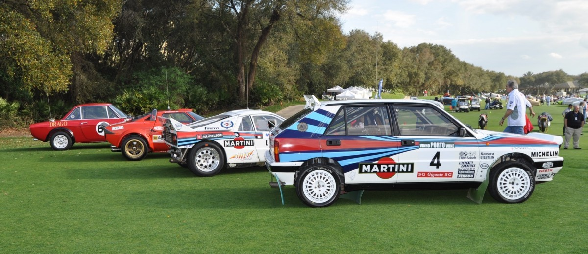 LANCIA Rally Reunion - Stratos, Integrale, Fulvia and 037 Together for Amelia 2015 52