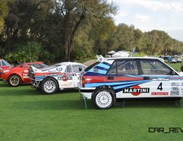 LANCIA Rally Reunion – Stratos, Integrale, Fulvia and 037 Together for Amelia 2015