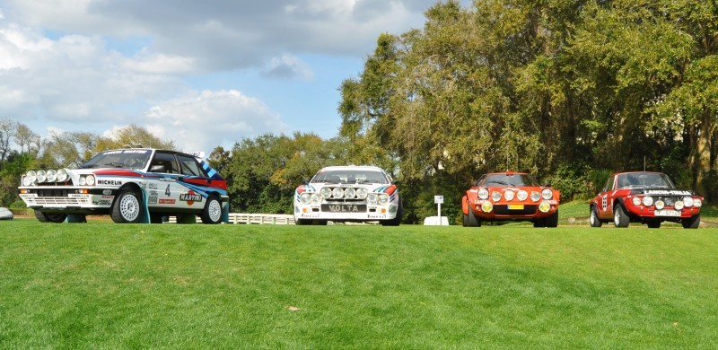 LANCIA Rally Reunion - Stratos, Integrale, Fulvia and 037 Together for Amelia 2015 6