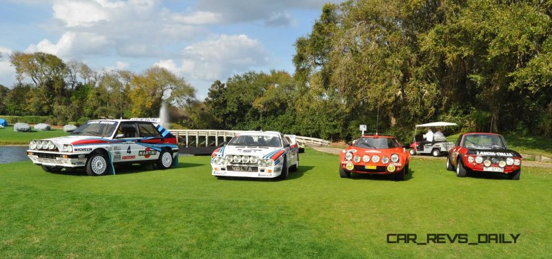 LANCIA Rally Reunion - Stratos, Integrale, Fulvia and 037 Together for Amelia 2015 7