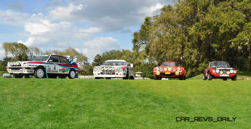 LANCIA Rally Reunion - Stratos, Integrale, Fulvia and 037 Together for Amelia 2015 8