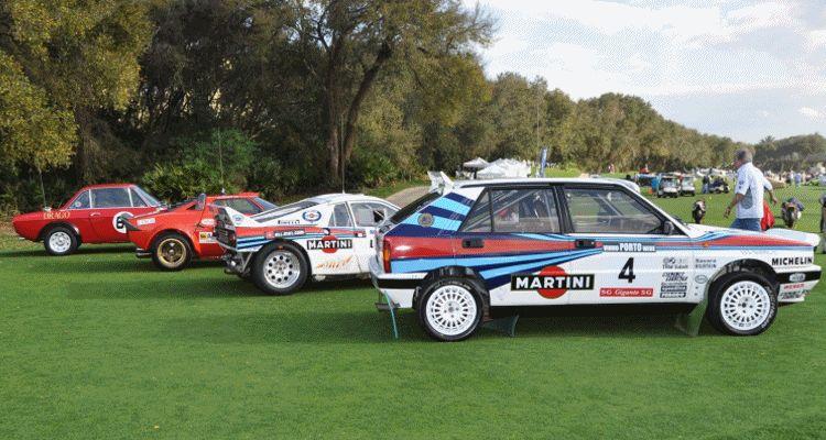 LANCIA Rally Reunion - Stratos, Integrale, Fulvia and 037