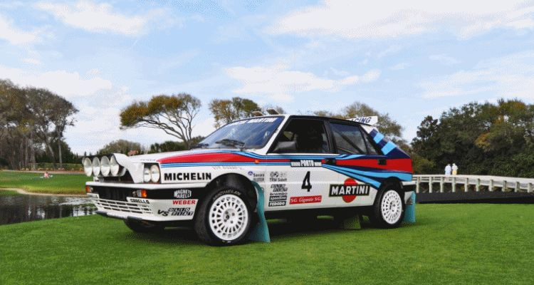 Meet The 1988 Lancia Delta HF Integrale 8V World Rally Championship-Winner