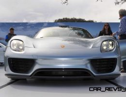 Amelia Island – 2015 Porsche 918 Spyder – Roof Off, LEDs On!