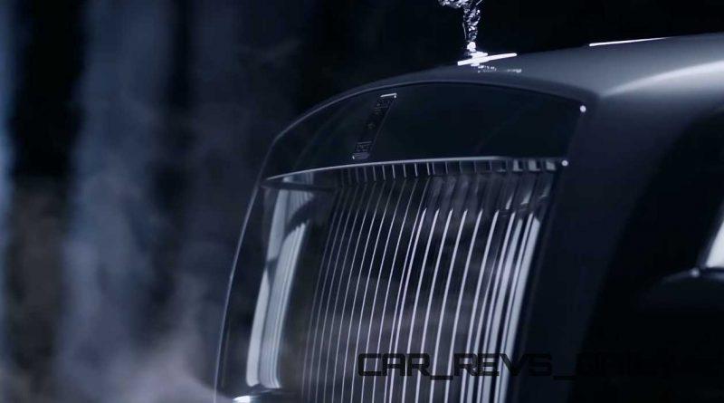 Rolls-Royce WRAITH 'And The World Stood Still' Film Stills 11