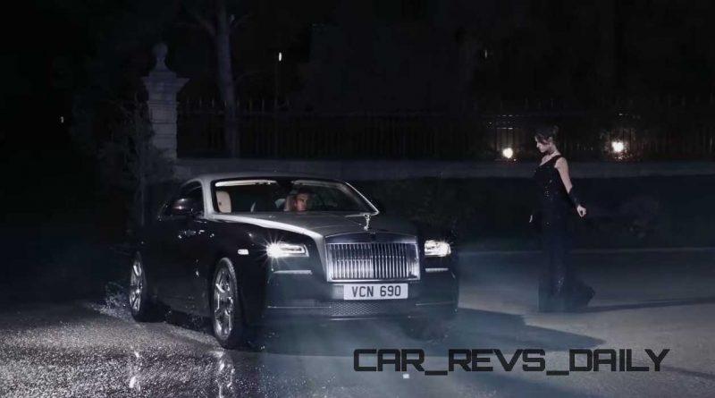 Rolls-Royce WRAITH 'And The World Stood Still' Film Stills 24