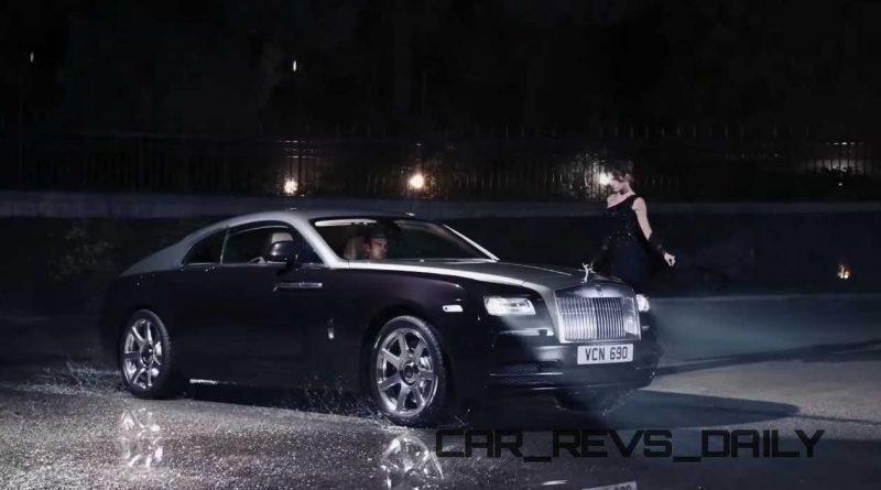 Rolls-Royce WRAITH 'And The World Stood Still' Film Stills 25