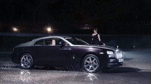 Rolls-Royce WRAITH 'And The World Stood Still' Film Stills 26