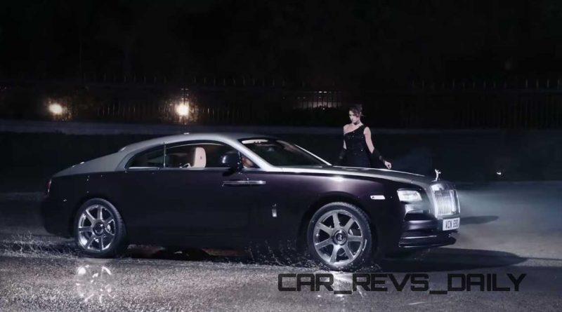 Rolls-Royce WRAITH 'And The World Stood Still' Film Stills 26