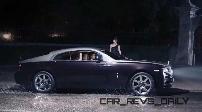 Rolls-Royce WRAITH 'And The World Stood Still' Film Stills 27