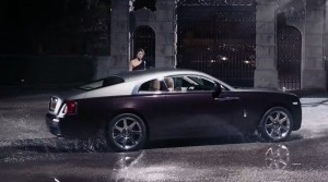 Rolls-Royce WRAITH 'And The World Stood Still' Film Stills 30