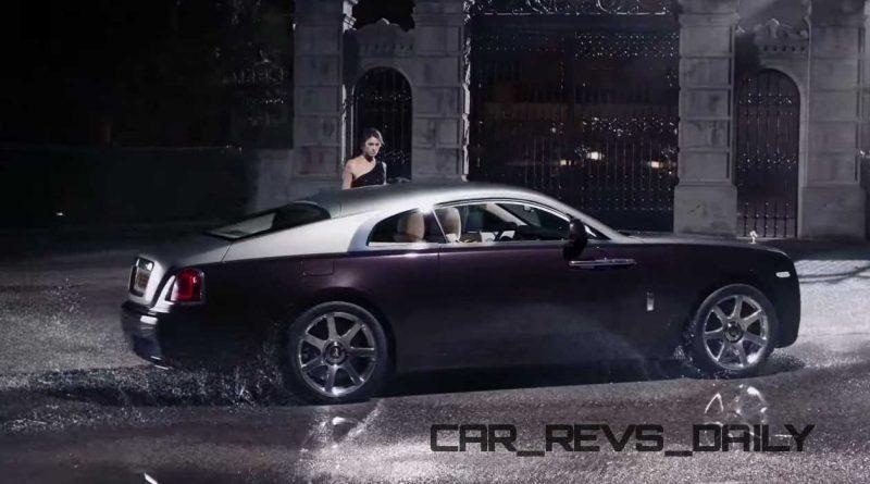 Rolls-Royce WRAITH 'And The World Stood Still' Film Stills 30