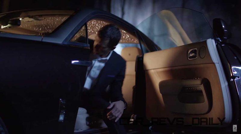 Rolls-Royce WRAITH 'And The World Stood Still' Film Stills 5