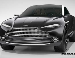 2015 Aston Martin DBX Concept Is Surprise Geneva Crossover