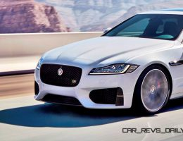 2016 Jaguar XF Reveals Fresh Nose and Tail + All-New Cabin