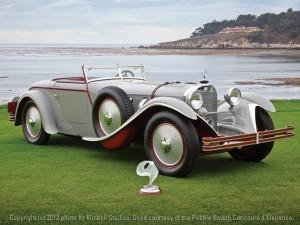 1928 Mercedes-Benz 680S Torpedo Roadster by Carrosserie J