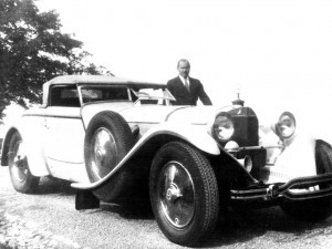 1928 Mercedes-Benz 680S Torpedo Roadster by Carrosserie J