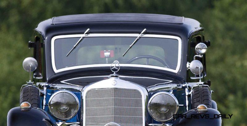 1933 Mercedes-Benz 290 Pullman 17