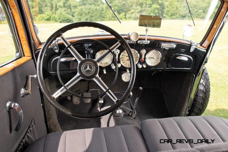 1933 Mercedes-Benz 290 Pullman 6