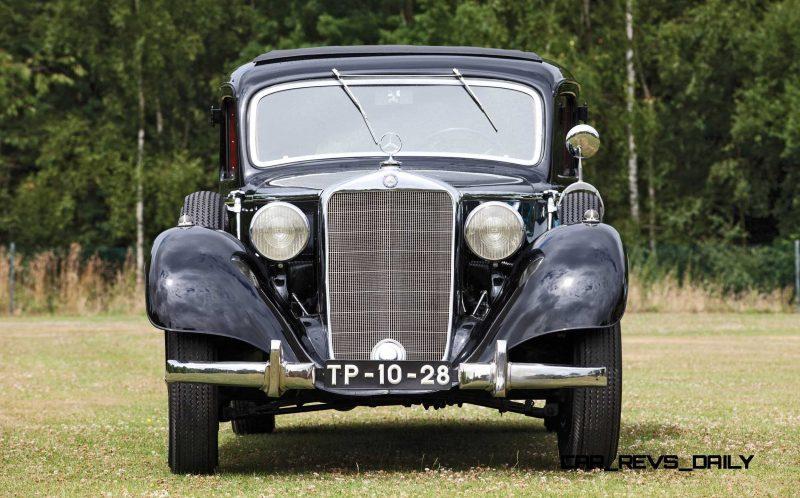 1939 Mercedes-Benz 320 Pullman Limousine 14