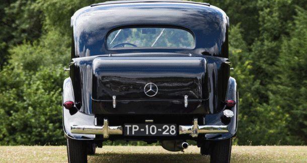 1939 Mercedes-Benz 320 Pullman Limousine