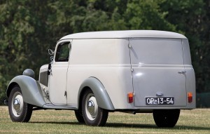 1952 Mercedes-Benz 170VA Panel Wagon  2