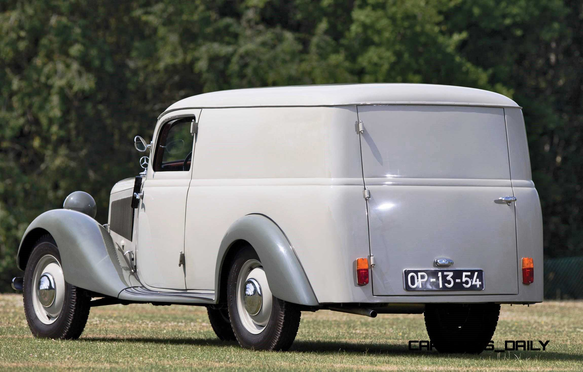 1952 mercedes benz 170va panel wagon 2 for 1952 mercedes benz