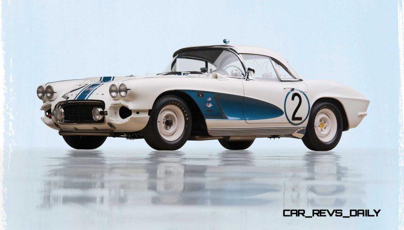 1962 Chevrolet Corvette RPO Big Tank Gulf Oil Race Car 1