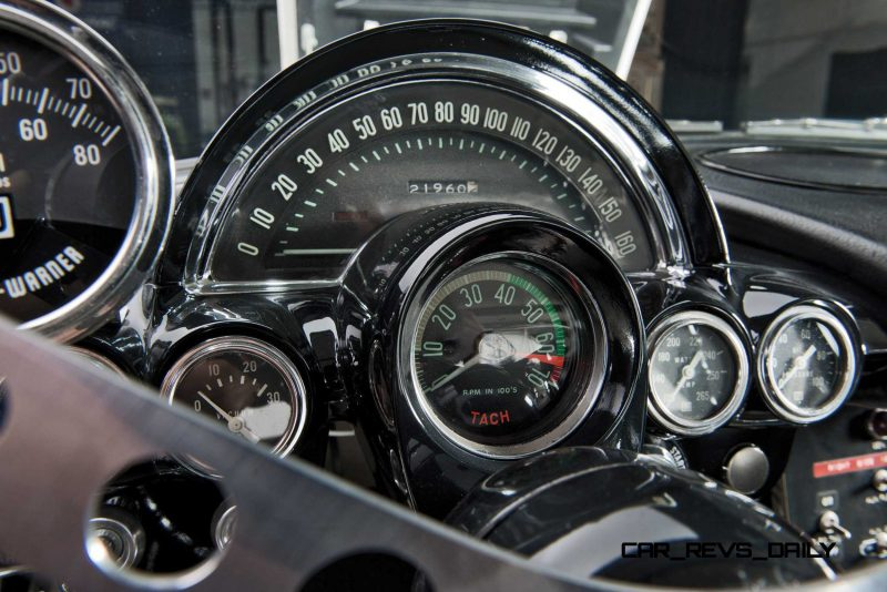 1962 Chevrolet Corvette RPO Big Tank Gulf Oil Race Car 21