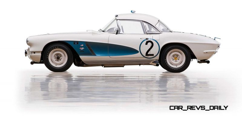 1962 Chevrolet Corvette RPO Big Tank Gulf Oil Race Car 8