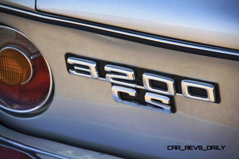1964 BMW 3200CS 7
