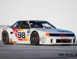Racing Hero – 1986 Toyota Celica IMSA GTO Is a Rear-Drive Boost-Monster