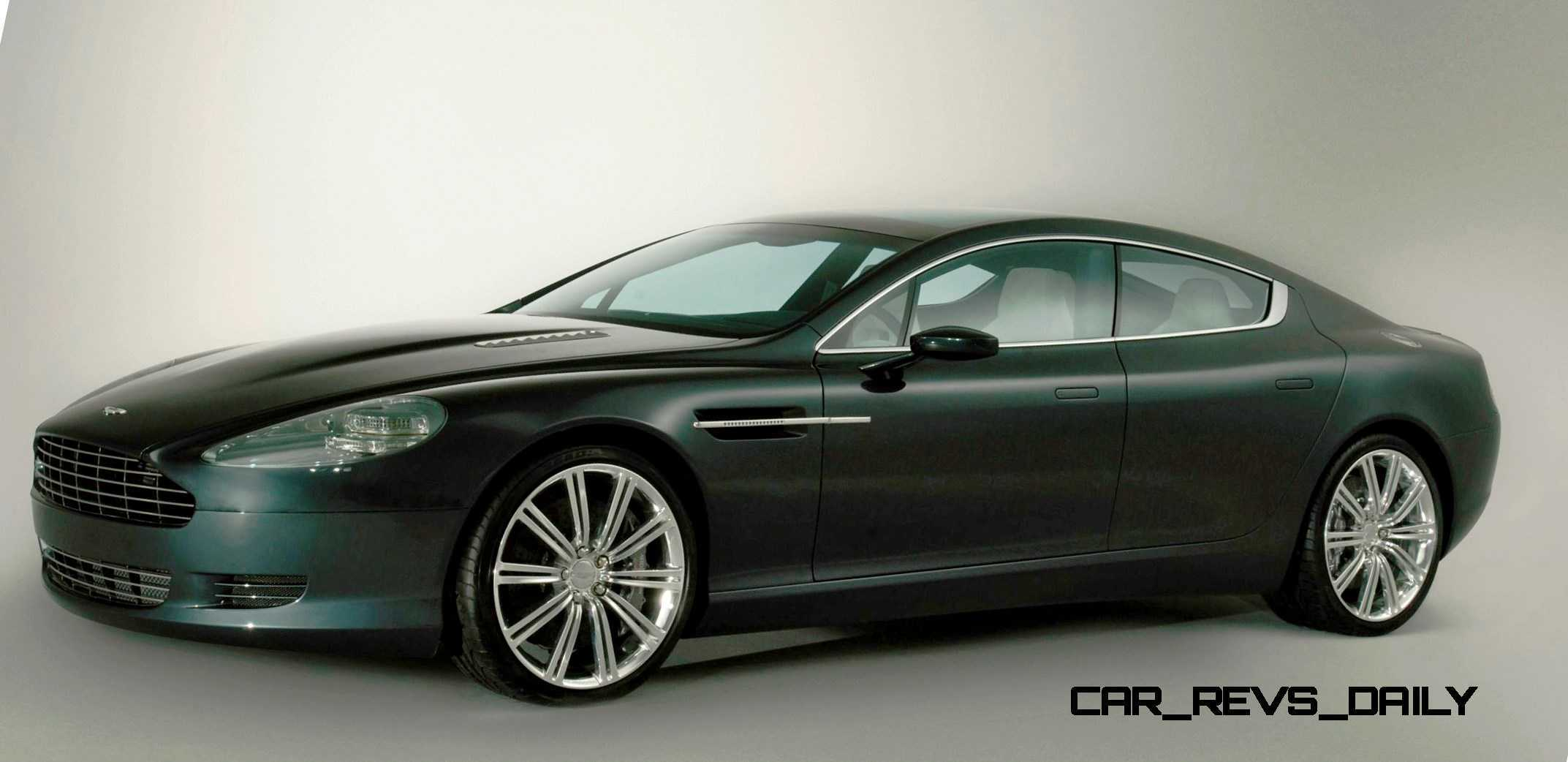 2006 aston martin rapide concept 28 car revs. Black Bedroom Furniture Sets. Home Design Ideas