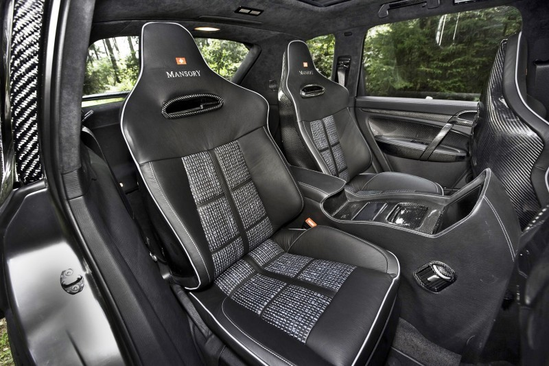 2009 MANSORY Chopster Interior 12