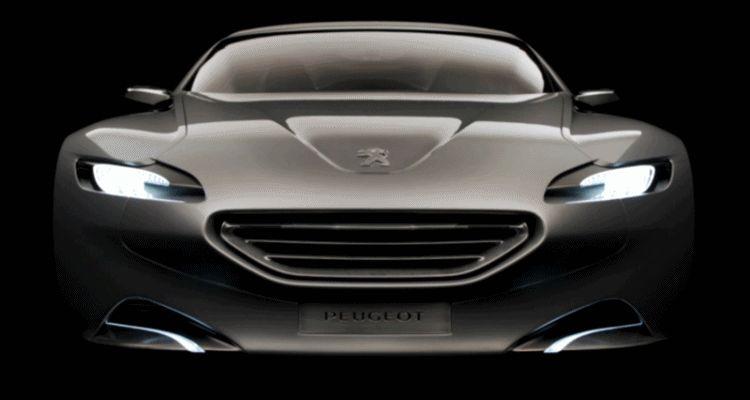 2010 Peugeot SR1 Concept Lighting