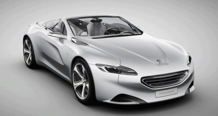2010 Peugeot SR1 Concept top