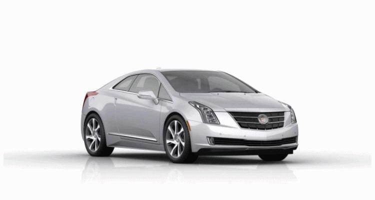 2014 Cadillac ELR turntable silver