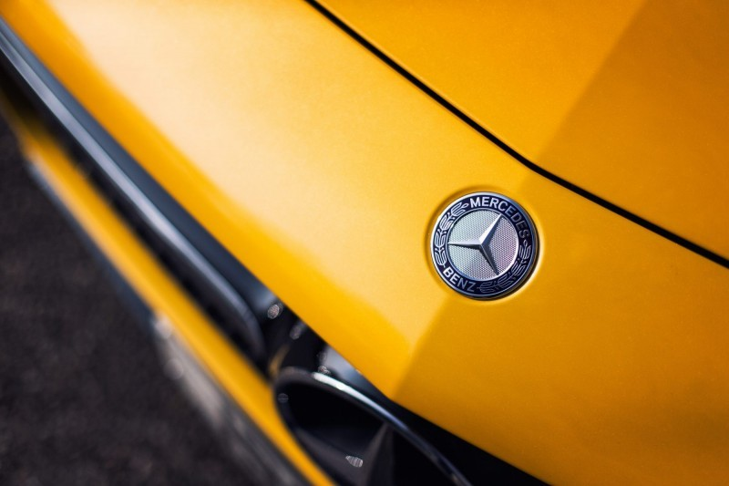 2015 AMG GT Yellow 15