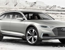 2015 Audi Prologue AllRoad Makes High-Riding Shanghai Debut