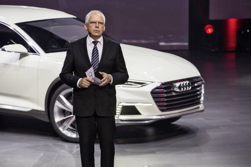 Audi bei der Volkswagen Group Night ? Auto Shanghai 2015
