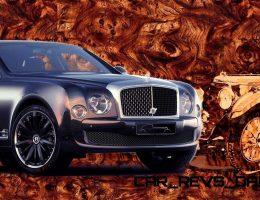 2015 Bentley Mulsanne Speed BLUE TRAIN By Mulliner