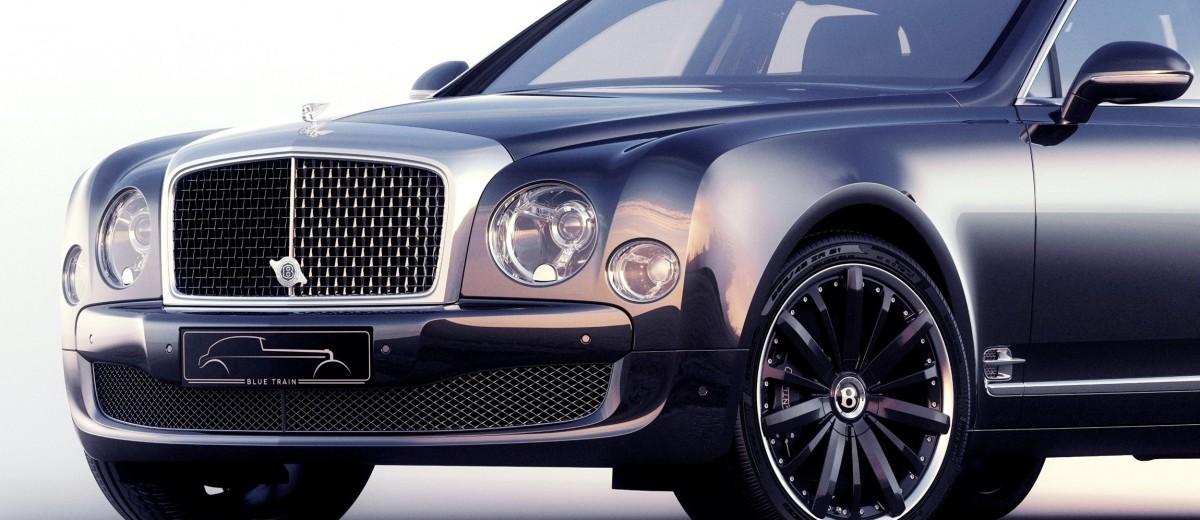 2015 Bentley Mulsanne Speed BLUE TRAIN By Mulliner 6