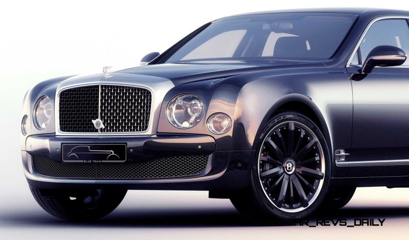 2015 Bentley Mulsanne Speed BLUE TRAIN By Mulliner 6
