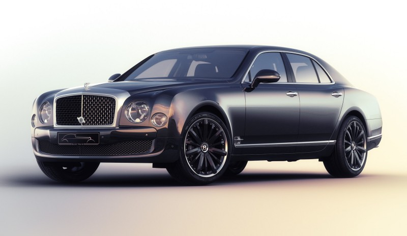 2015 Bentley Mulsanne Speed BLUE TRAIN By Mulliner 7