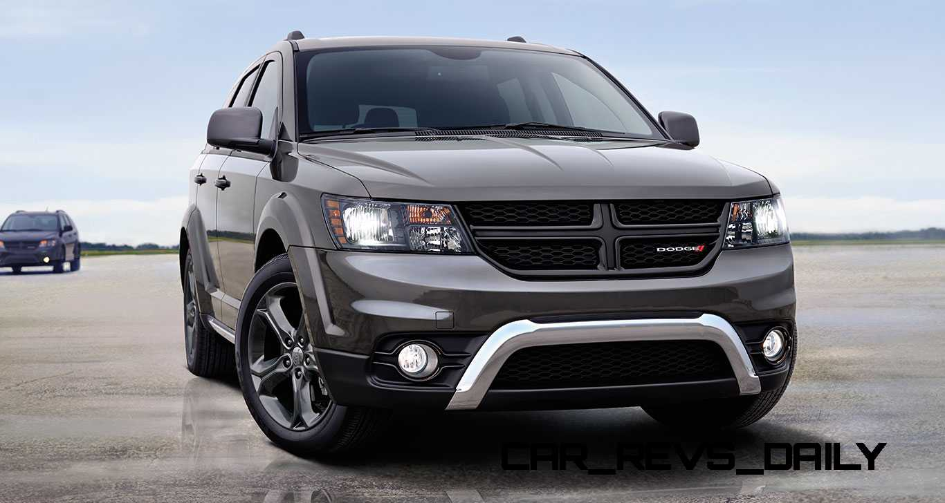 small garages ideas - 2015 Dodge Journey Crossroad AWD Review 4