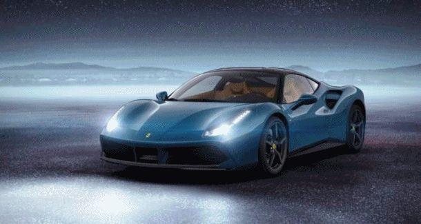 2015 Ferrari 488GTB Blue